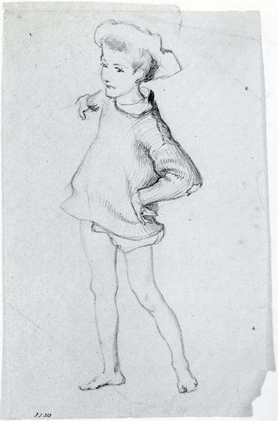 Figure of a Child, c.1877 - John Singer Sargent