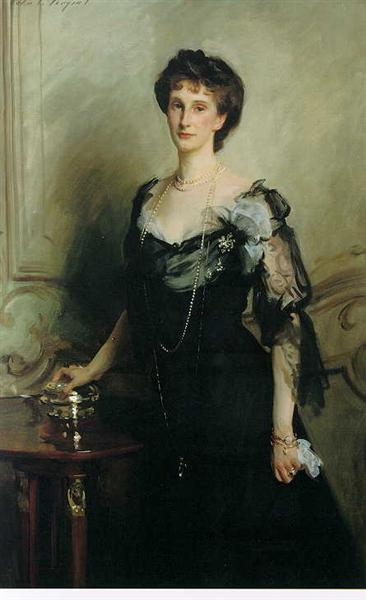 Lady Evelyn Cavendish - Sargent John Singer