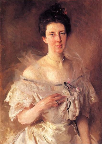 Mrs. Gardiner Greene Hammond (Esther Fiske Hammond), 1903 - John Singer Sargent