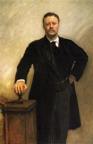 Portrait of Theodore Roosevelt, 1903 - John Singer Sargent