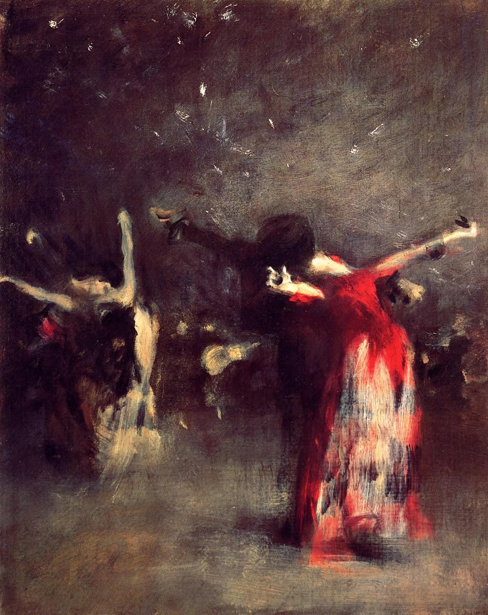 Study for the spanish dance