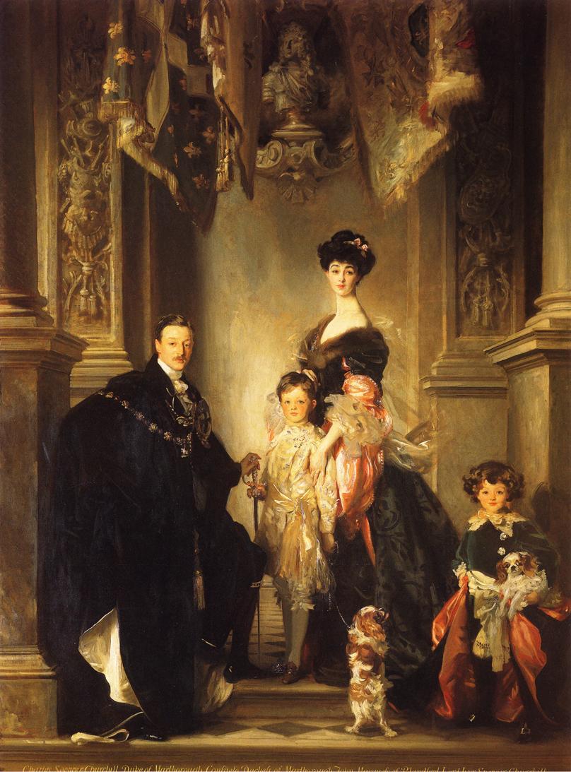 The Marlborough Family John Singer Sargent
