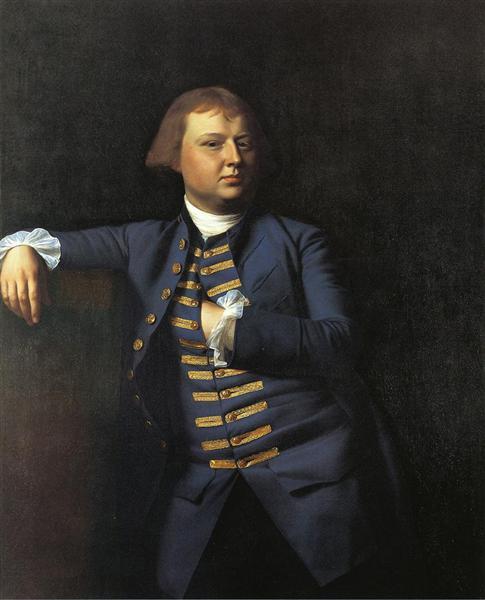 Lemuel Cox, 1770 - John Singleton Copley