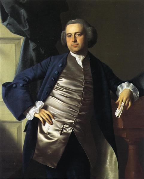 Moses Gill, 1764 - John Singleton Copley