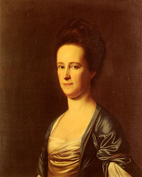 Mrs.Elizabeth Coffin Amory, 1775 - John Singleton Copley