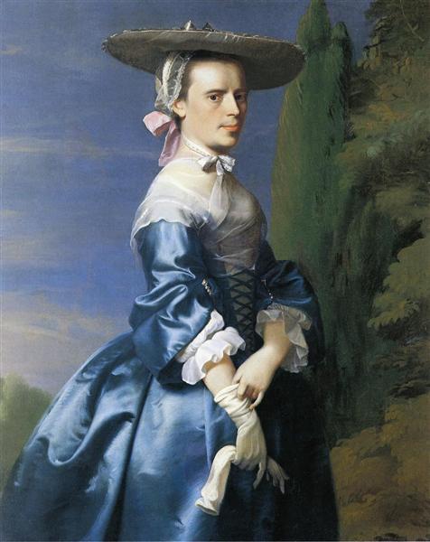 Mrs. Nathaniel Allen (Sarah Sargnet), c.1763 - John Singleton Copley
