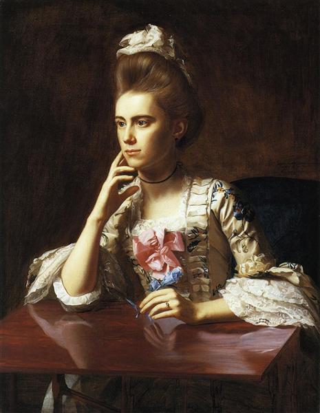 Mrs.Richard Skinner, 1772 - John Singleton Copley