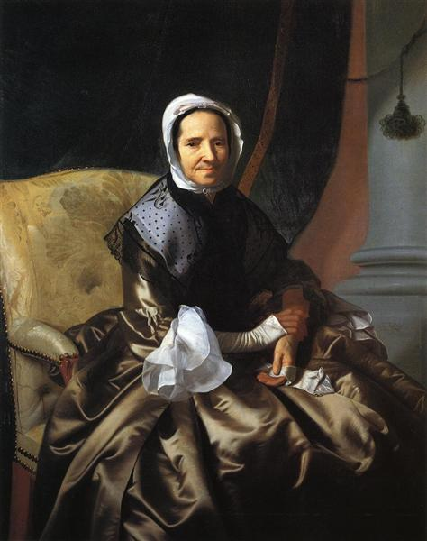 Mrs.Thomas Boylston, 1766 - John Singleton Copley