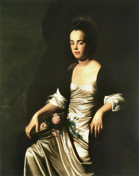Portrait of Mrs. John Stevens (Judith Sargent, later Mr. John Murray), 1770 - 1772 - John Singleton Copley