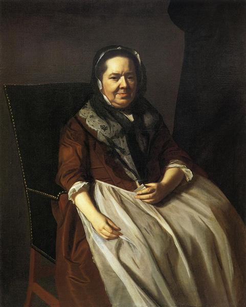 Portrait of Mrs.Paul Richard, 1771 - John Singleton Copley