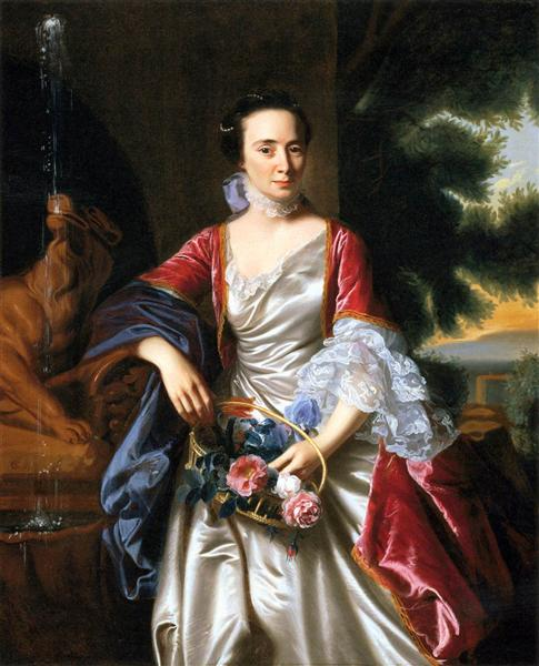 Portrait of Rebecca Boylston, 1767 - John Singleton Copley