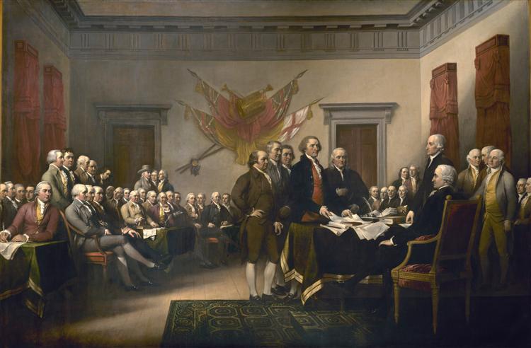 Declaration of Independence, 1817 - 1819 - John Trumbull