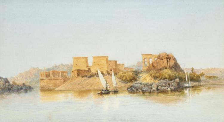 The Island of Philae, Egypt, 1902 - John Varley II
