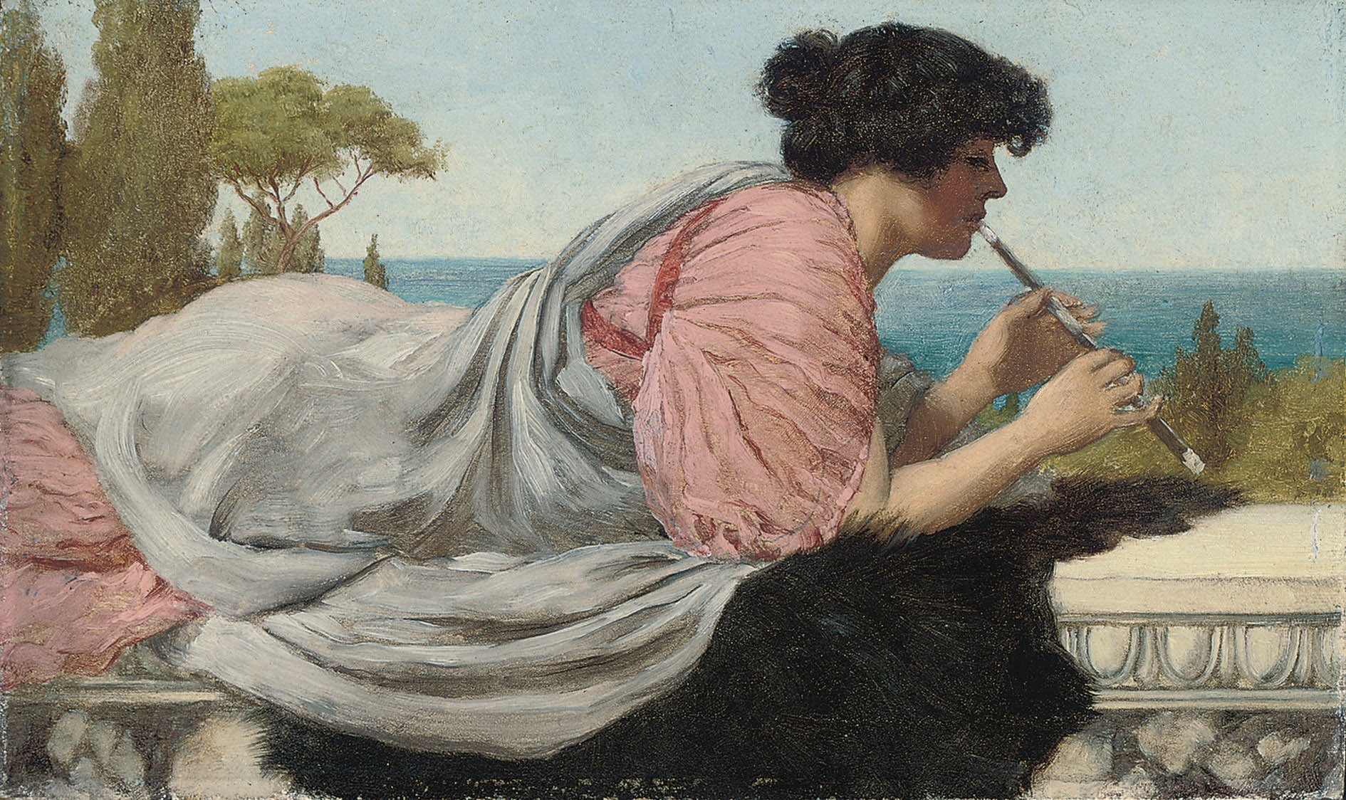 John William Godward - Page 2 A-melody