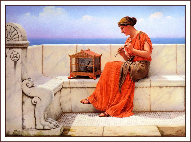 A Song without Words, 1919 - John William Godward