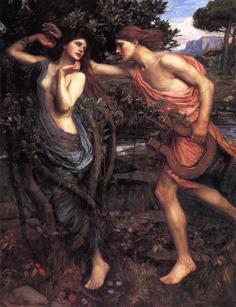 Apollo and Daphne, 1908 - John William Waterhouse