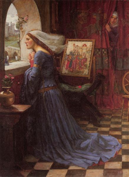 Fair Rosamund, c.1916 - John William Waterhouse