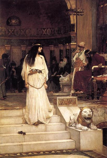 Mariamne Leaving the Judgement Seat of Herod, 1887 - John William Waterhouse