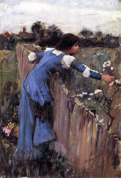 The Flower Picker, 1895 - John William Waterhouse