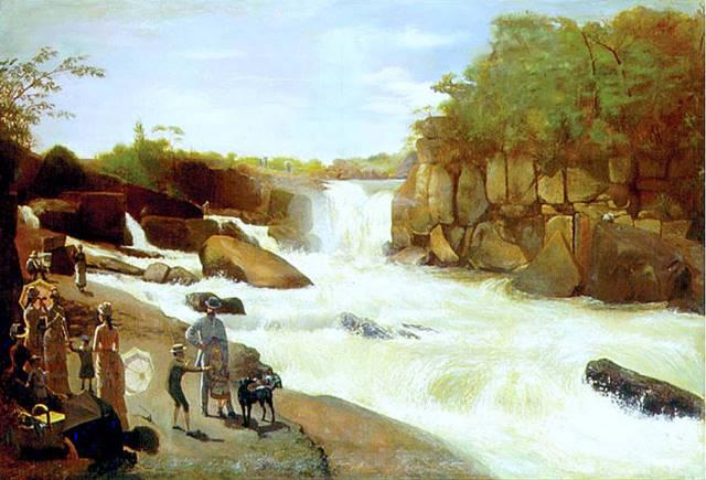 Salto de Itu, 1886 - Jose Ferraz de Almeida Junior