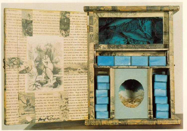 Untitled (Paul and Virginia), 1948 - Joseph Cornell