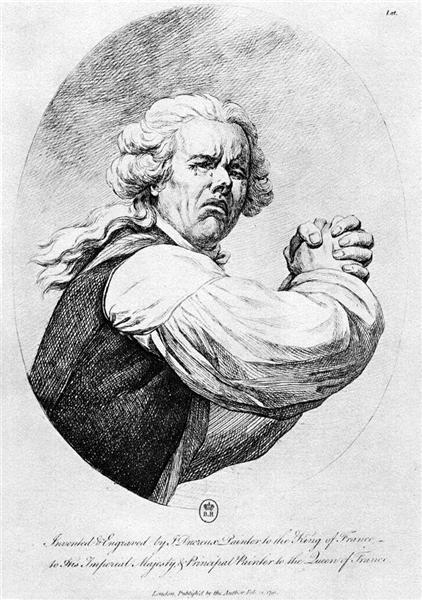 Self portrait, 1791 - Joseph Ducreux