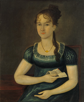 Portrait of Isabella Taylor, 1805 - Joshua Johnson
