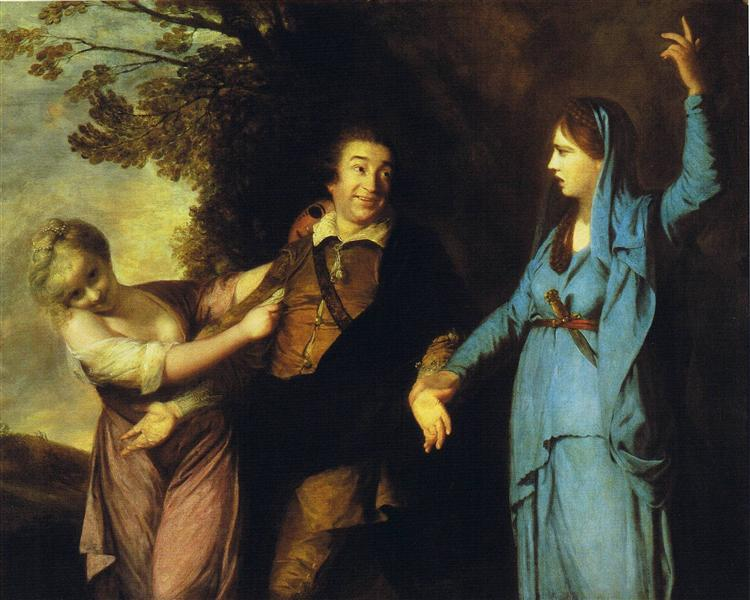 Garrick Between Tragedy and Comedy, 1760 - 1761 - Joshua Reynolds