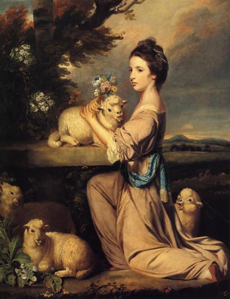 Lady Mary Leslie, 1764 - Joshua Reynolds
