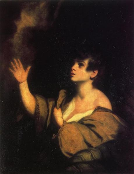 The Calling of Samuel - Joshua Reynolds