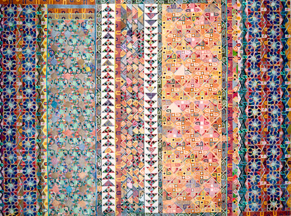 Mad Russian Blanket, 1977 - Joyce Kozloff