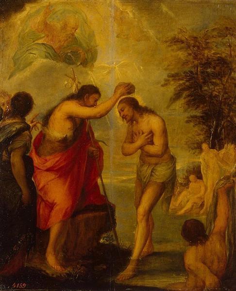 Baptism of Christ, 1680 - Juan Carreno de Miranda