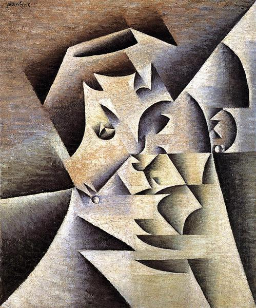 Portrait of the Artist s Mother, 1912 - Juan Gris
