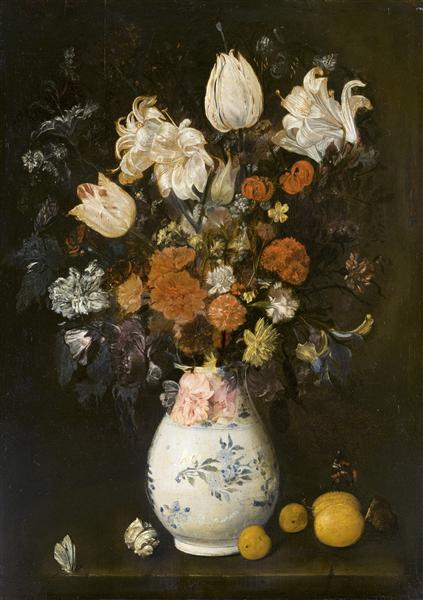 Flowers In A Vase 1654 Judith Leyster Wikiart