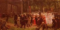 Le Pardon De Kergoat - Jules Breton