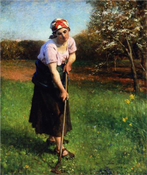 Springtime, 1902 - Жюль Бретон