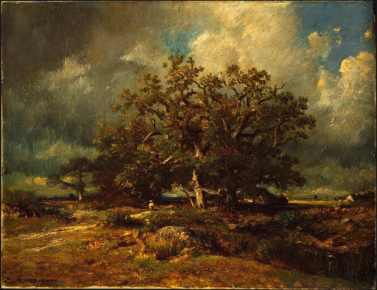 The Old Oak, 1870 - Жюль Дюпре