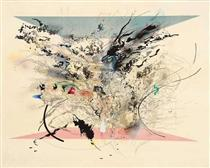 Enclosed Resurgence - Julie Mehretu