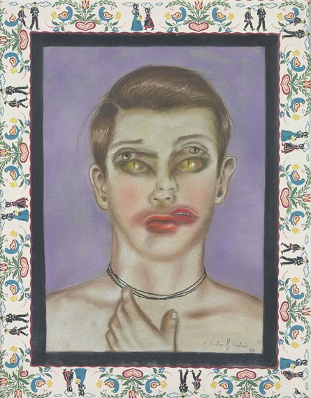Untitled (Ojos de gato), 1992 - Julio Galan