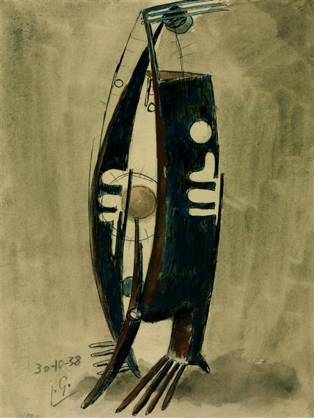 Figure with Balls, 1938 - Julio Gonzalez