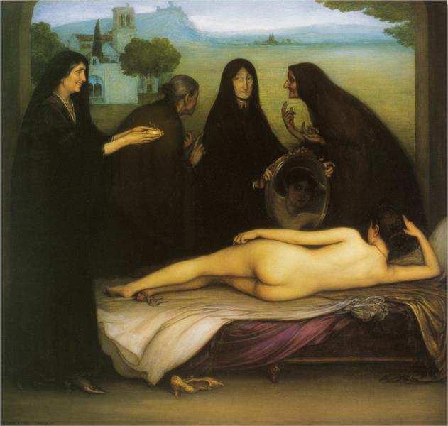 El pecado, 1913 - Julio Romero de Torres