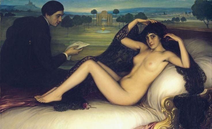 Venus of Poetry, 1913 - Julio Romero de Torres