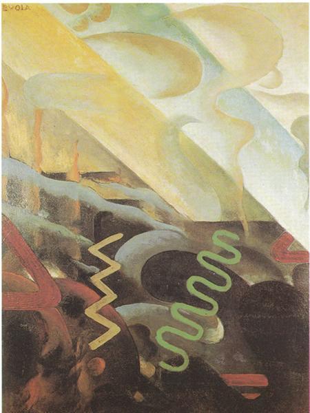 Astrazione, 1921 - Julius Evola