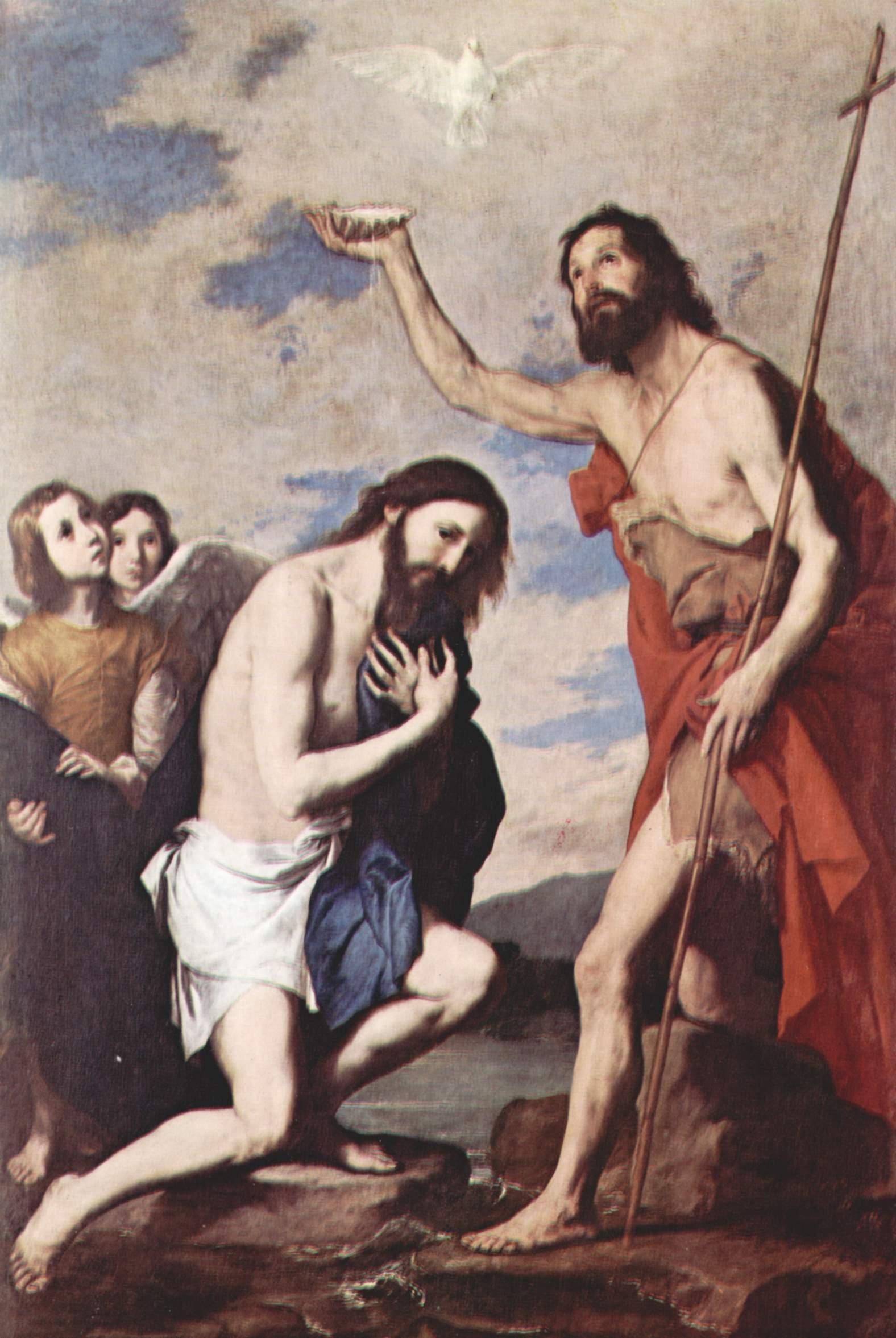 baptism of jesus 1643 jusepe de ribera wikiart org