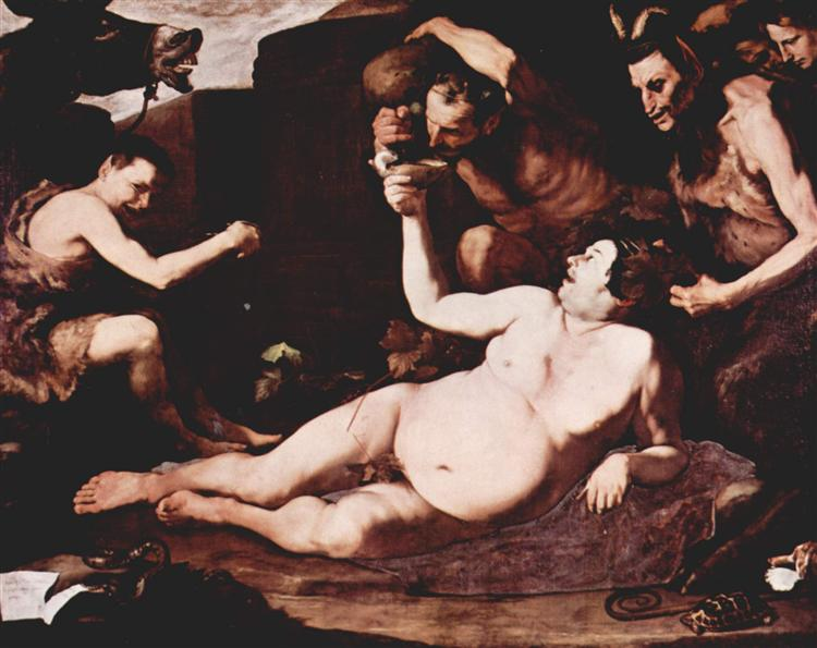 Drunken Silenus, 1626 - Jusepe de Ribera