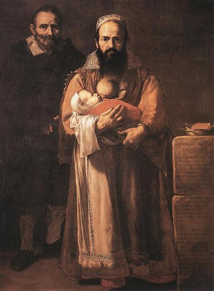 Magdalena Ventura with Her Husband and Son, 1631 - Jusepe de Ribera