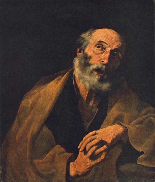 Saint Peter, c.1625 - c.1629 - Jusepe de Ribera
