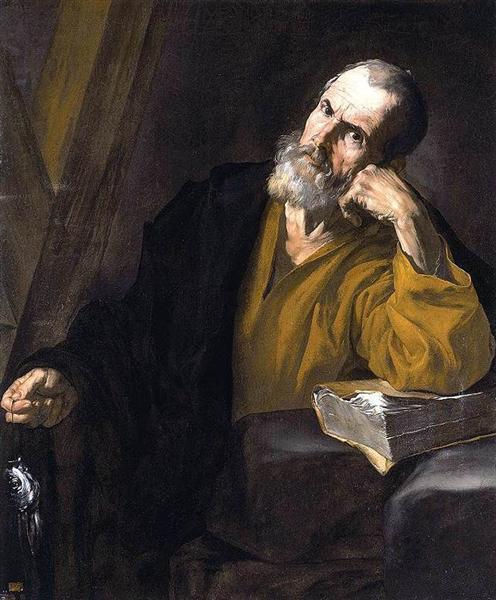 St. Andrew, c.1616 - Jusepe de Ribera