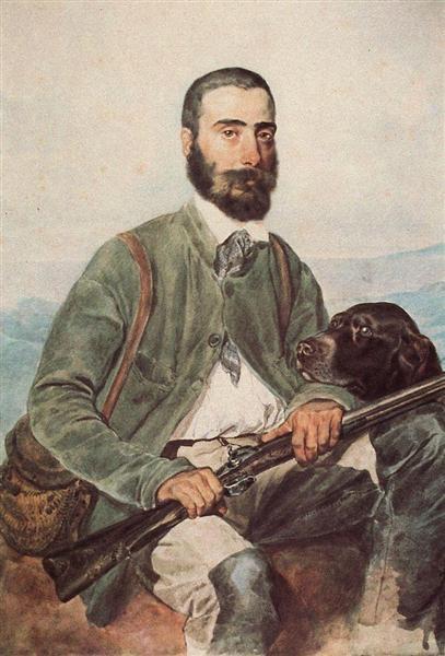 Portrait of Mariano Tittoni, 1850 - 1852 - Karl Briulov