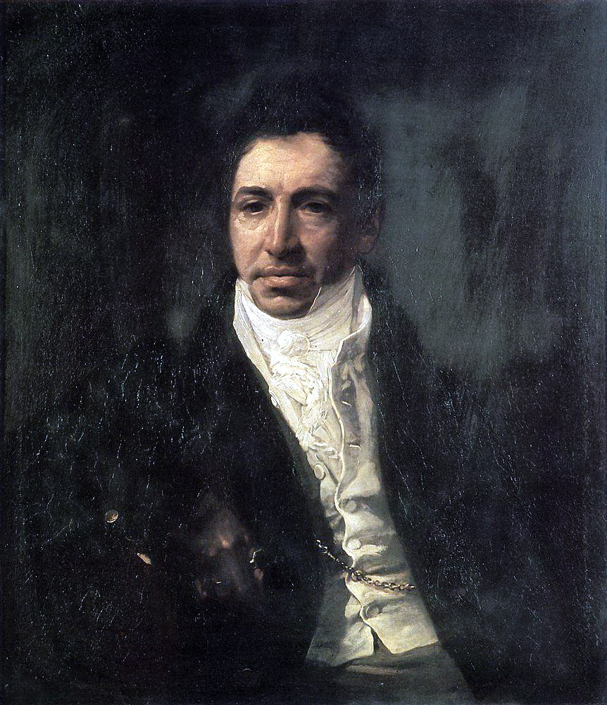 Portrait of the Secretary of State Piotr Kikin, 1821-1822